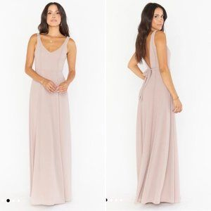 Show Me Your Mumu dusty blush Jenn maxi dress